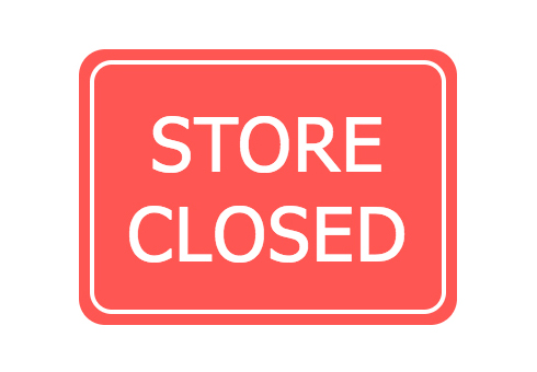 Store Closed Page