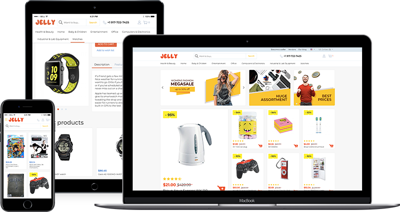 Jelly Theme - Responsive Theme for CS-Cart